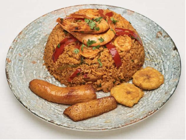 arroz con camarón el manaba