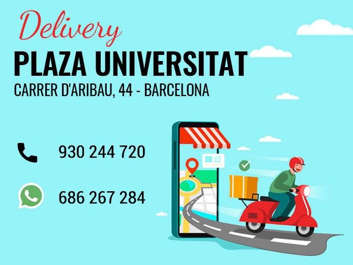 Delivery plaza universitat el manaba